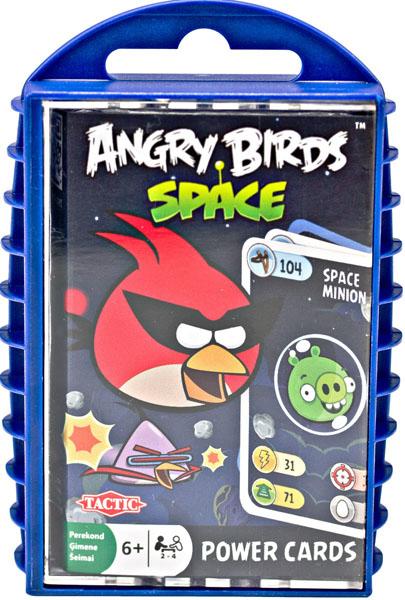 Игра с карточками Angry Birds. Космос40835Игра с карточками Angry Birds. Космос придется по вкусу всем любителям компьютерной аркады Angry Birds про маленьких, но очень суровых птичек. Здесь вам предстоит построить каменную, ледяную или деревянную башню из карточек первым. Сравнивайте показатели Силы и Цели на карточках и определяйте, кто побьет всех, а кто сможет построить свою башню и разрушить вражескую. В комплект входят: правила игры, 33 двухсторонних карточки, удобный контейнер для хранения и переноски.