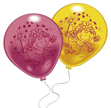 Набор воздушных шариков Everts Забавная фея, 10 шт483872FНабор надувных шариков Everts для декорирования поможет Вам необычно украсить комнату к празднику. Шарики розового и желтого цвета украшены рисунками забавной феи. Они изготовлены из безопасных материалов. Положительные эмоции и праздничное настроение будут на высоте!