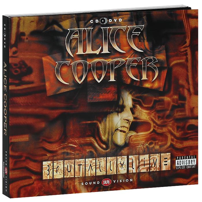 Alice Cooper. Brutally Live (CD + DVD)