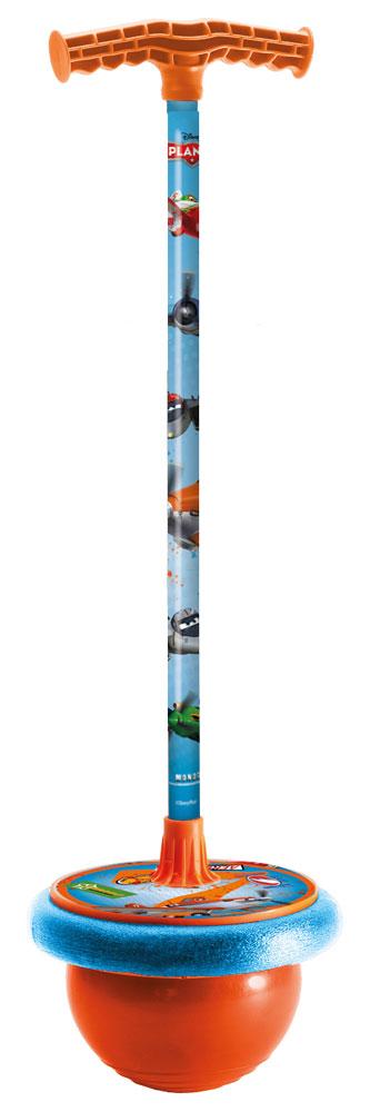 Мяч-попрыгун Самолеты с подставкой для ног01/524Мяч-попрыгун Самолеты от компании Mondo отличная игрушка для активного мальчика. Он украшен изображениями героев мультфильма Самолеты. В основании мяча-попрыгуна прочный резиновый мяч и удобная площадка для ног. Возле ручки прикреплен небольшой футляр, в который можно положить какие-нибудь вещи. Ребенок проведет много веселых часов, прыгая с этой игрушкой, но самое главное это еще и полезно. Отлично развивает координацию движения и повышает общую физическую подготовку.