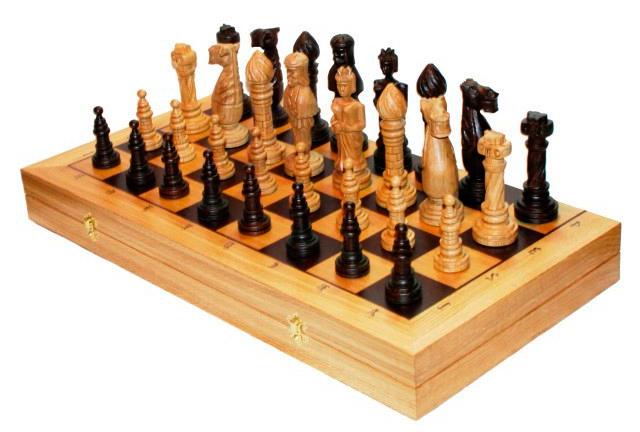 Шахматы Madon Дубовые, размер: 65 х 32,5 х 8 см105Шахматы Дубовые (65х32,5х8 см) доска и фигуры дуб