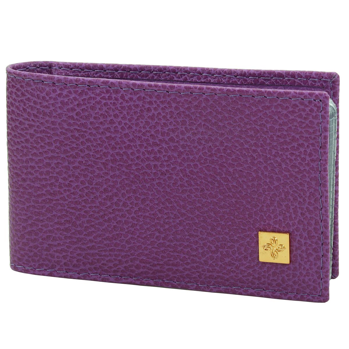 "Визитница Dimanche ""Purpur"", цвет: пурпурный. 104"