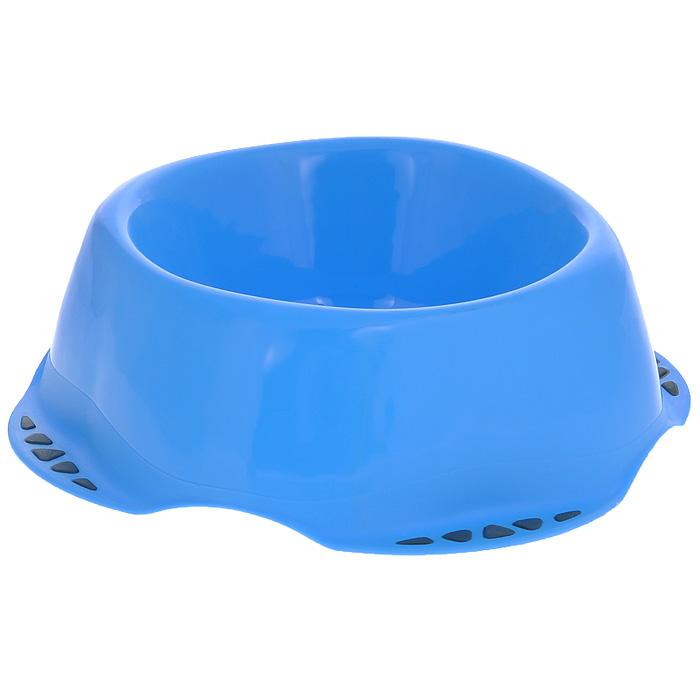 Миска для животных MPS Maya M, цвет: голубой, 0,6 лS10010300Миска для животных MPS Maya M изготовлена из цветного пластика, не впитывающего посторонние запахи. Подходит как для кошек, так и для собак, хорьков, кроликов, морских свинок. На дне имеются противоскользящие резиновые вставки. Миска для животных MPS Maya M, подойдет как для корма, так и для воды. Объем: 0,6 л. Диаметр (по верхнему краю): 14,5 см. Диаметр основания: 21,5 см. Высота миски: 6,5 см. Товар сертифицирован.