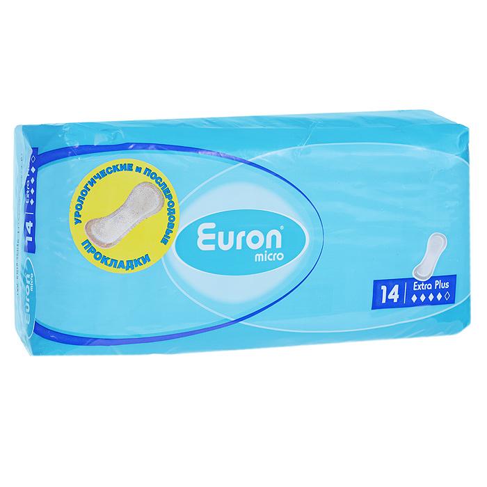 Euron Послеродовые и урологические прокладки Micro Extra Plus 14 шт