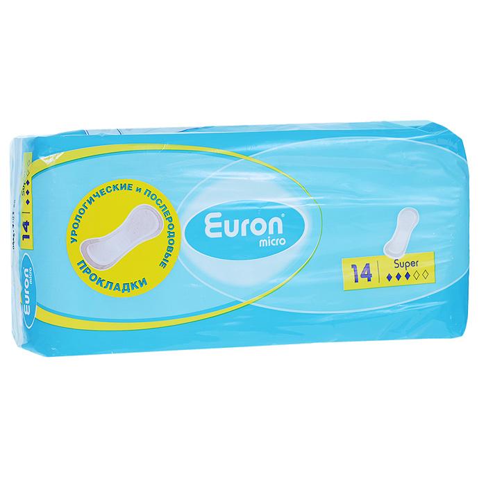 Euron Послеродовые и урологические прокладки Micro Super 14 шт