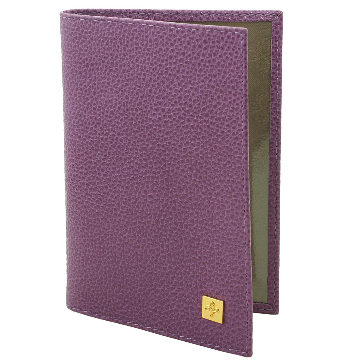 Обложка для паспорта женская Dimanche Purpur, цвет: пурпурный. 100100Обложка для паспорта Purpur выполнена из натуральной кожи с фактурным тиснением. На внутреннем развороте расположено два вертикальных кармана из прозрачного пластика. Обложка не только поможет сохранить внешний вид ваших документов и защитит их от повреждений, но и станет ярким аксессуаром, который подчеркнет ваш образ. Обложка упакована в фирменную картонную коробку. Характеристики: Материал: натуральная кожа, текстиль, ПВХ. Размер обложки: 9,5 см х 13,5 см х 1,5 см. Цвет: пурпурный.
