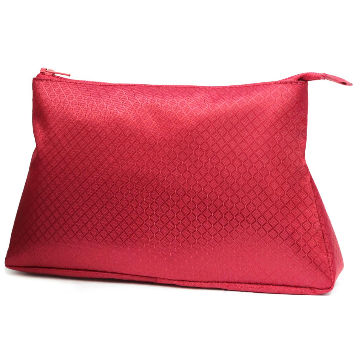 Косметичка Dimanche, цвет: красный. 280280Стильная косметичка Dimanche выполнена из текстиля. Косметичка на подкладке, закрывается на молнию, объемная, мягкая, внутри одно большое отделение. Объемное дно и удобная застежка делают аксессуар универсальным в повседневном использовании. Характеристики: Цвет: красный. Материал: металл, текстиль. Размер косметички: 23 см x 15 см x 6 см. Производитель: Россия. Артикул: 280.