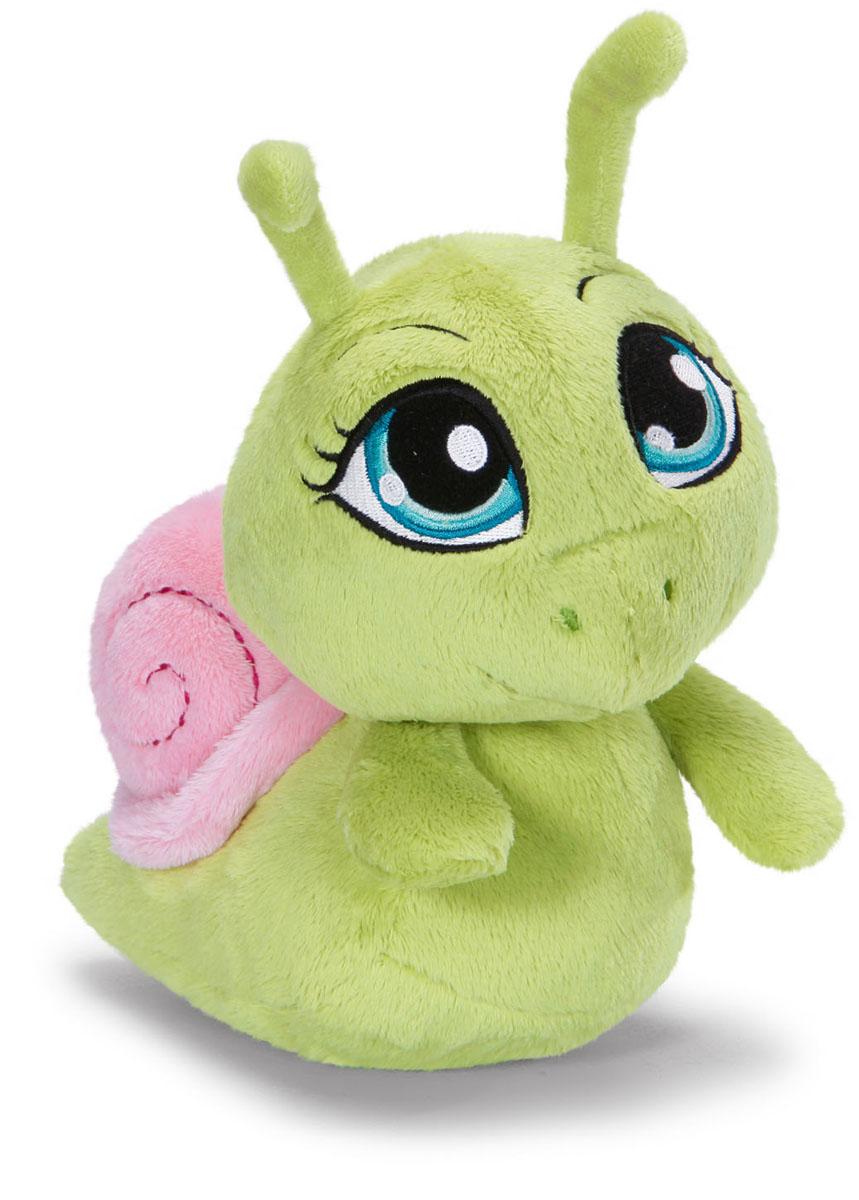Мягкая игрушка Nici Улитка, цвет: зеленый, 25 см36448Мягкая игрушка Nici Улитка выполнена в виде симпатичной улитки зеленого цвета. Удивительно мягкая игрушка изготовлена из высококачественного текстильного материала с набивкой из синтепона и пластиковых гранул. Оригинальный стиль и великолепное качество исполнения делают эту игрушку чудесным подарком к любому празднику. Немецкая компания Nici является одним из лидеров на Европейском рынке мягких игрушек и подарков. Продукцию компании можно встретить везде: это и значок на школьном рюкзаке, и магнит на холодильнике, и поздравительная открытка, и мягкая игрушка, и автомобильный талисман. Игрушки Nici - это товары высочайшего качества и инновационного дизайна. Для создания всего одной игрушки работает большое количество людей и используется самое современное оборудование и технологии. И делается все это для того, чтобы добиться счастливых улыбок покупателей.