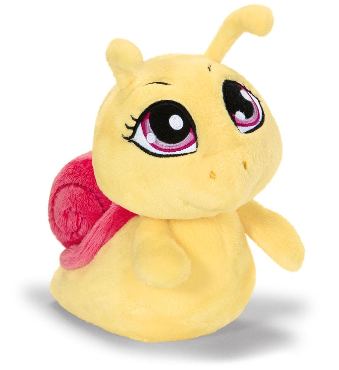 Мягкая игрушка Nici Улитка, цвет: желтый, 30 см36450Симпатичная мягкая игрушка Улитка не оставит вас равнодушным и вызовет улыбку у каждого, кто ее увидит. Удивительно мягкая игрушка изготовлена из высококачественного текстильного материала с набивкой из синтепона и пластиковых гранул. Глазки у улитки вышитые. Оригинальный стиль и великолепное качество исполнения делают эту игрушку чудесным подарком к любому празднику. Немецкая компания Nici является одним из лидеров на Европейском рынке мягких игрушек и подарков. Продукцию компании можно встретить везде: это и значок на школьном рюкзаке, и магнит на холодильнике, и поздравительная открытка, и мягкая игрушка, и автомобильный талисман. Игрушки Nici - это товары высочайшего качества и инновационного дизайна. Для создания всего одной игрушки работает большое количество людей и используется самое современное оборудование и технологии. И делается все это для того, чтобы добиться счастливых улыбок покупателей.