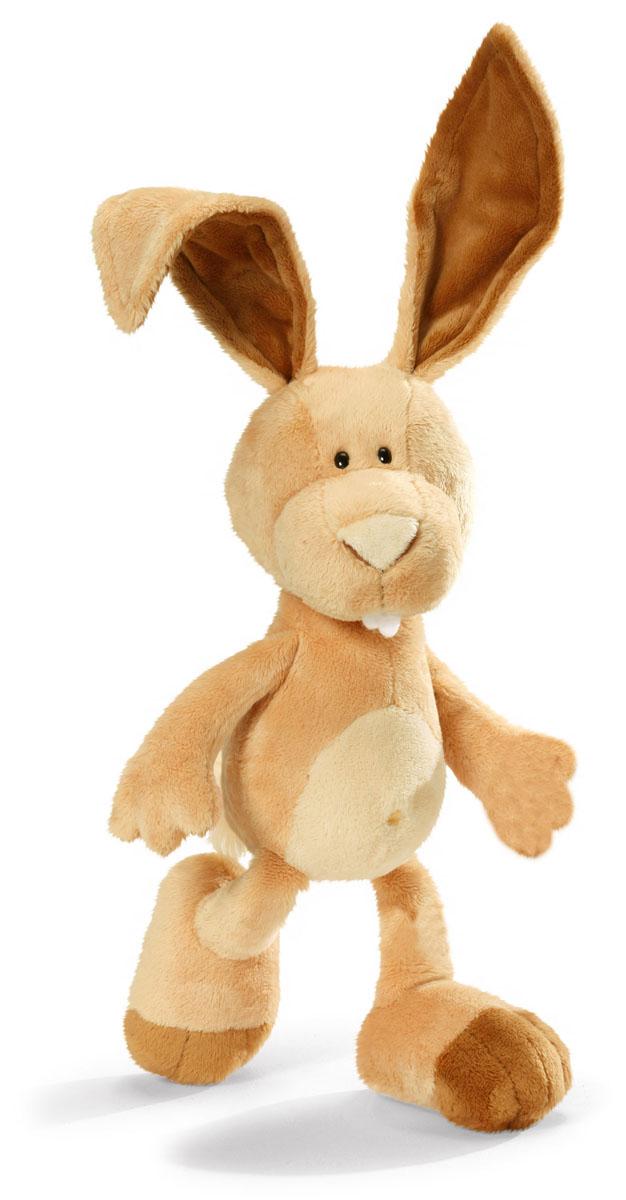 Мягкая игрушка Nici Кролик Ральф, сидячая, 25 см36511Мягкая игрушка Nici Кролик Ральф выполнена в виде симпатичного кролика. Удивительно мягкая игрушка изготовлена из высококачественного текстильного материала светло-коричневого цвета с набивкой из синтепона и пластиковых гранул. Глазки у кролика пластиковые. Игрушку легко можно посадить на ровную поверхность. Оригинальный стиль и великолепное качество исполнения делают эту игрушку чудесным подарком к любому празднику. Немецкая компания Nici является одним из лидеров на Европейском рынке мягких игрушек и подарков. Продукцию компании можно встретить везде: это и значок на школьном рюкзаке, и магнит на холодильнике, и поздравительная открытка, и мягкая игрушка, и автомобильный талисман. Игрушки Nici - это товары высочайшего качества и инновационного дизайна. Для создания всего одной игрушки работает большое количество людей и используется самое современное оборудование и технологии. И делается все это для того, чтобы добиться счастливых улыбок покупателей.