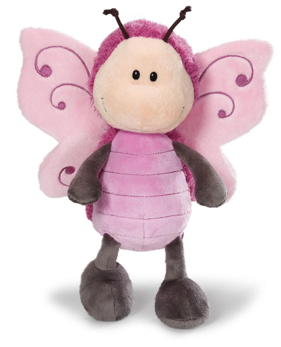 Мягкая игрушка Nici Бабочка, сидячая, 20 см36579Мягкая игрушка Nici Бабочка - выполнена в виде очаровательной бабочки. Удивительно мягкая игрушка изготовлена из высококачественного текстильного материала с набивкой из синтепона и пластиковых гранул. Глазки у бабочки пластиковые, у нее есть рожки, а за спиной - розовые крылышки. Игрушку легко можно посадить на ровную поверхность. Оригинальный стиль и великолепное качество исполнения делают эту игрушку чудесным подарком к любому празднику. Немецкая компания Nici является одним из лидеров на Европейском рынке мягких игрушек и подарков. Продукцию компании можно встретить везде: это и значок на школьном рюкзаке, и магнит на холодильнике, и поздравительная открытка, и мягкая игрушка, и автомобильный талисман. Игрушки Nici - это товары высочайшего качества и инновационного дизайна. Для создания всего одной игрушки работает большое количество людей и используется самое современное оборудование и технологии. И делается все это для того, чтобы добиться счастливых...