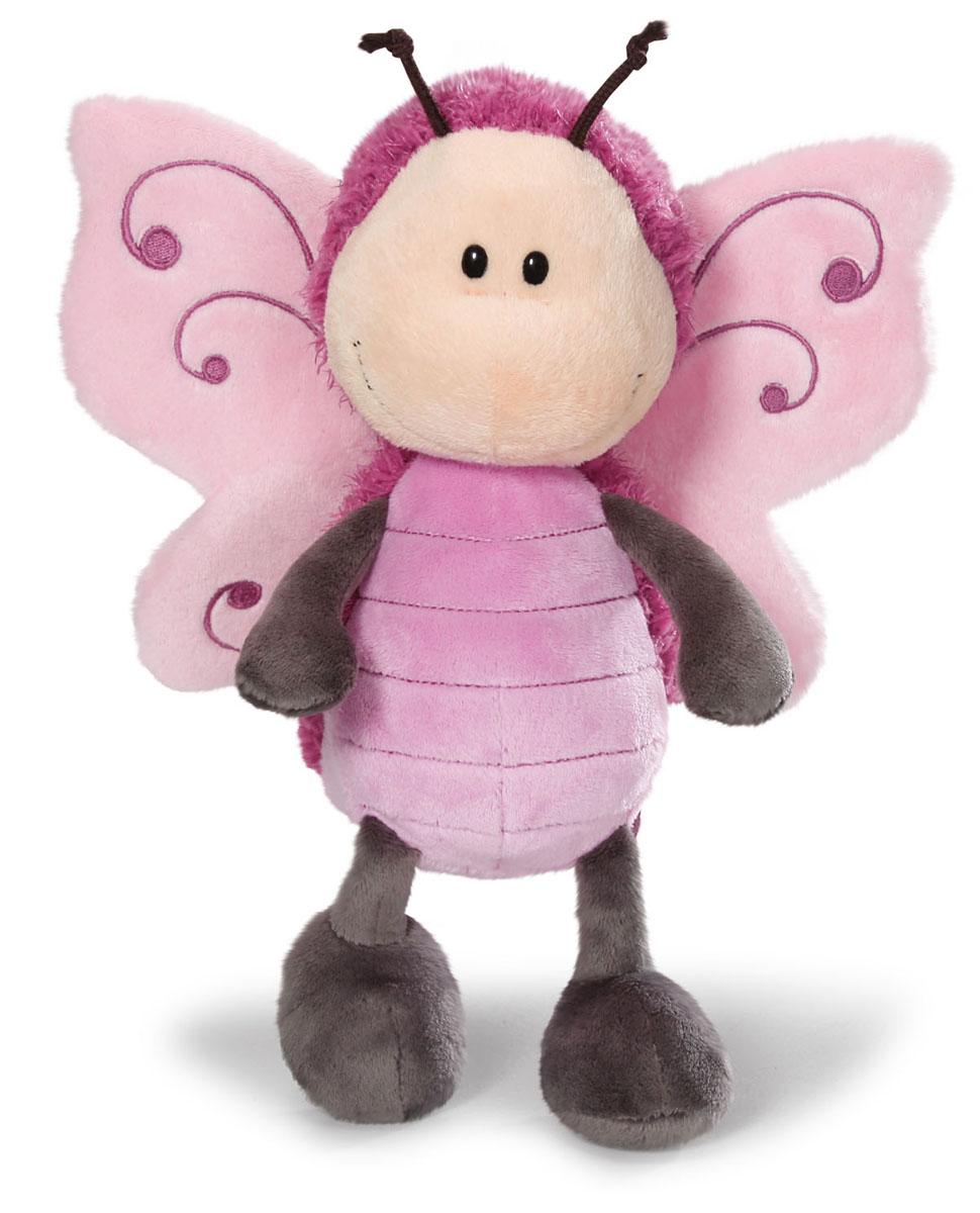 Мягкая игрушка Nici Бабочка, сидячая, 25 см36580Мягкая игрушка Nici Бабочка - выполнена в виде очаровательной бабочки. Удивительно мягкая игрушка изготовлена из высококачественного текстильного материала с набивкой из синтепона и пластиковых гранул. Глазки у бабочки пластиковые, у нее есть рожки, а за спиной - розовые крылышки. Игрушку легко можно посадить на ровную поверхность. Оригинальный стиль и великолепное качество исполнения делают эту игрушку чудесным подарком к любому празднику. Немецкая компания Nici является одним из лидеров на Европейском рынке мягких игрушек и подарков. Продукцию компании можно встретить везде: это и значок на школьном рюкзаке, и магнит на холодильнике, и поздравительная открытка, и мягкая игрушка, и автомобильный талисман. Игрушки Nici - это товары высочайшего качества и инновационного дизайна. Для создания всего одной игрушки работает большое количество людей и используется самое современное оборудование и технологии. И делается все это для того, чтобы добиться счастливых...