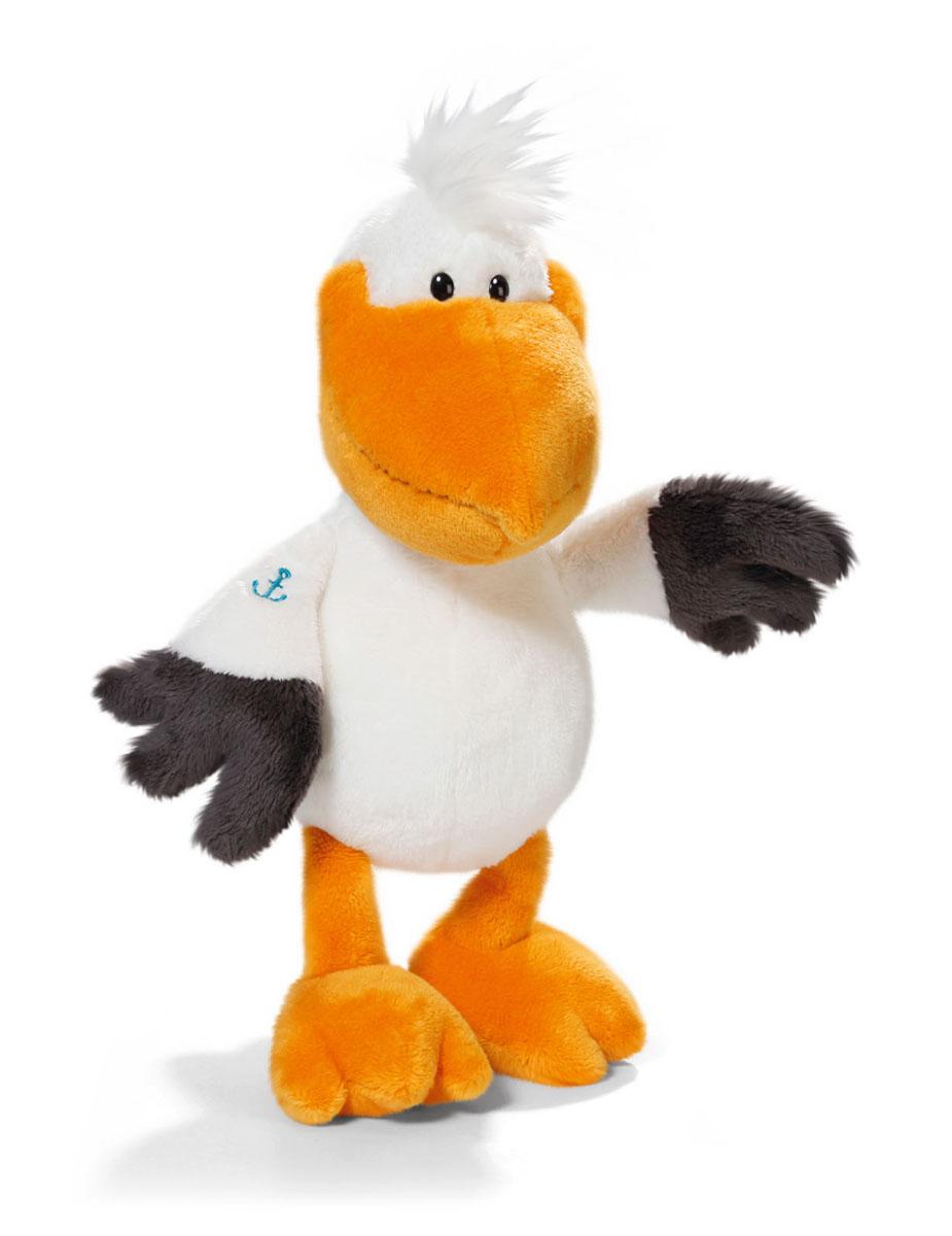 Мягкая игрушка Nici Пеликан, сидячая, 25 см36605Мягкая игрушка Nici Пеликан выполнена в виде симпатичного пеликана. Удивительно мягкая игрушка изготовлена из высококачественного текстильного материала с набивкой из синтепона и пластиковых гранул. Глазки у пеликана пластиковые, на крылышке имеется вышивка в виде морского якоря. Игрушку можно посадить на ровную поверхность. Оригинальный стиль и великолепное качество исполнения делают эту игрушку чудесным подарком к любому празднику. Немецкая компания Nici является одним из лидеров на Европейском рынке мягких игрушек и подарков. Продукцию компании можно встретить везде: это и значок на школьном рюкзаке, и магнит на холодильнике, и поздравительная открытка, и мягкая игрушка, и автомобильный талисман. Игрушки Nici - это товары высочайшего качества и инновационного дизайна. Для создания всего одной игрушки работает большое количество людей и используется самое современное оборудование и технологии. И делается все это для того, чтобы добиться счастливых улыбок...