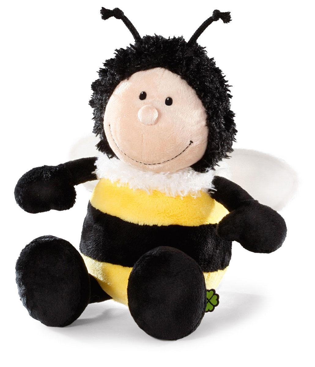Мягкая игрушка Nici Шмель, сидячая, 15 см36864Мягкая игрушка Nici Шмель выполнена в виде симпатичного шмеля. Удивительно мягкая игрушка изготовлена из высококачественного текстильного материала черного, желтого, бежевого и белого цветов с набивкой из синтепона и пластиковых гранул. Глазки у шмеля пластиковые, вокруг шеи имеется белый пушок, также у него есть усики, а за спиной - небольшие крылышки. Игрушку легко можно посадить на ровную поверхность. Оригинальный стиль и великолепное качество исполнения делают эту игрушку чудесным подарком к любому празднику. Немецкая компания Nici является одним из лидеров на Европейском рынке мягких игрушек и подарков. Продукцию компании можно встретить везде: это и значок на школьном рюкзаке, и магнит на холодильнике, и поздравительная открытка, и мягкая игрушка, и автомобильный талисман. Игрушки Nici - это товары высочайшего качества и инновационного дизайна. Для создания всего одной игрушки работает большое количество людей и используется самое современное оборудование...