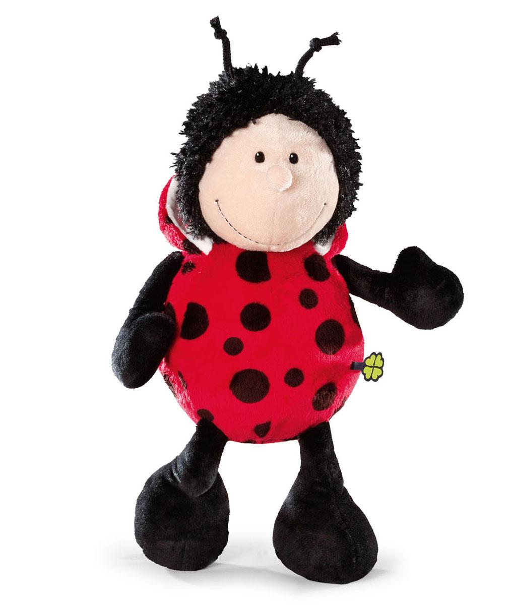 Мягкая игрушка Nici Божья коровка, сидячая, 25 см36865Мягкая игрушка Nici Божья коровка выполнена в виде симпатичной божьей коровки. Удивительно мягкая игрушка изготовлена из высококачественного текстильного материала черного, красного и бежевого цветов с набивкой из синтепона и пластиковых гранул. Глазки у божьей коровки пластиковые, также у нее есть небольшие рожки на голове. Игрушку можно посадить на ровную поверхность. Оригинальный стиль и великолепное качество исполнения делают эту игрушку чудесным подарком к любому празднику. Немецкая компания Nici является одним из лидеров на Европейском рынке мягких игрушек и подарков. Продукцию компании можно встретить везде: это и значок на школьном рюкзаке, и магнит на холодильнике, и поздравительная открытка, и мягкая игрушка, и автомобильный талисман. Игрушки Nici - это товары высочайшего качества и инновационного дизайна. Для создания всего одной игрушки работает большое количество людей и используется самое современное оборудование и технологии. И делается все это...