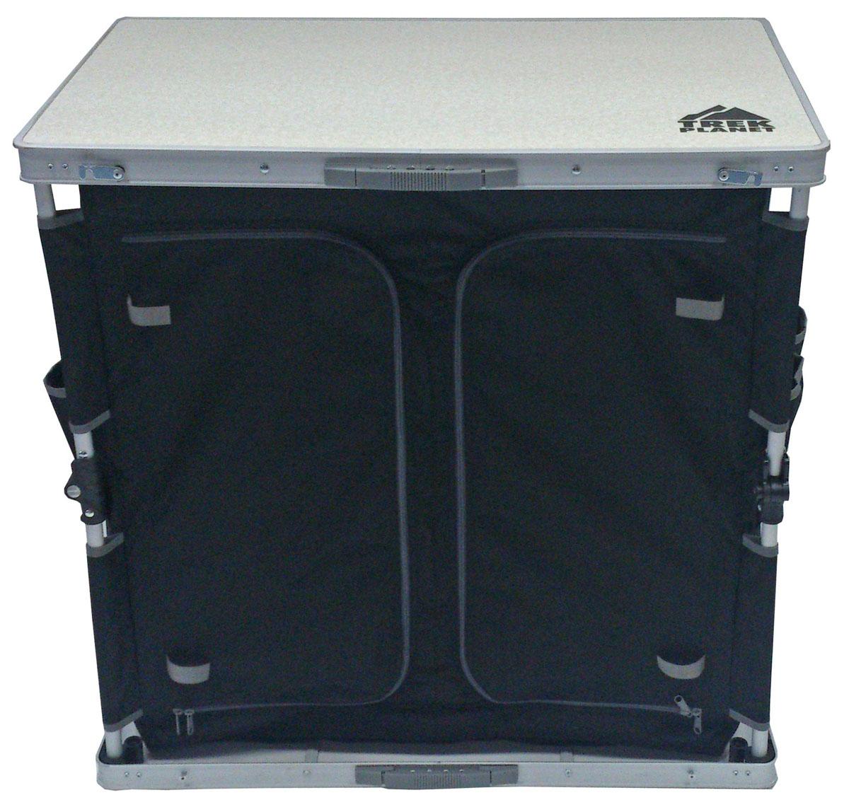 Cтол-шкаф TREK PLANET двухсекционный складной AC-585D