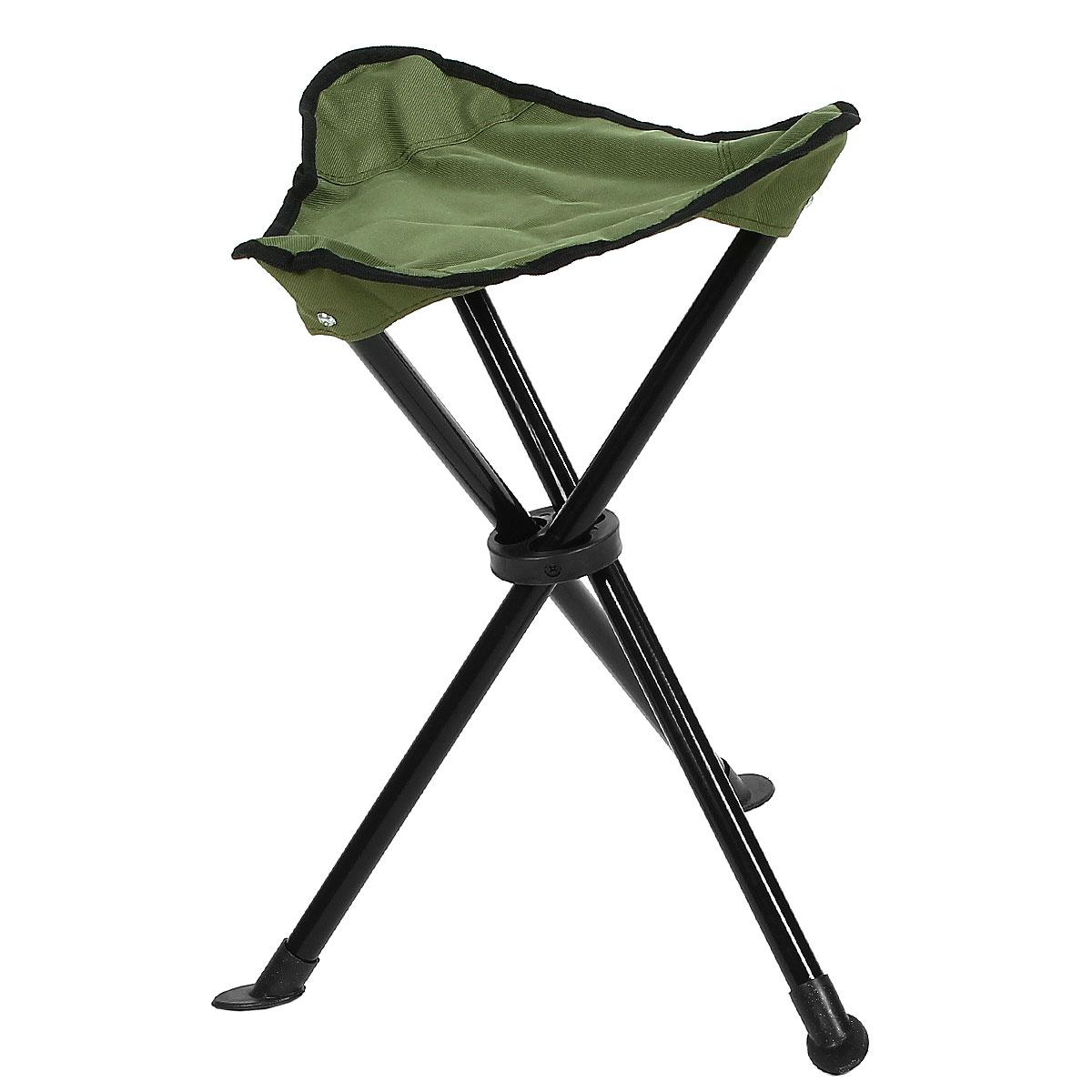 Стул складной на 3-х ножках Happy Camper, цвет: зеленыйЛК-8106Стул складной Happy Camper - это незаменимый предмет походной мебели, очень удобен в эксплуатации. Каркас стула изготовлен из прочного и долговечного алюминиевого сплава, устойчивого к погодным условиям Стул легко собирается и разбирается и не занимает много места, поэтому подходит для транспортировки и хранения дома. Складное кресло прекрасно подойдет для комфортного отдыха на даче или в походе. Материал: 600D ПВХ, каркас - сталь 19 мм. Максимальная нагрузка: 90 кг.