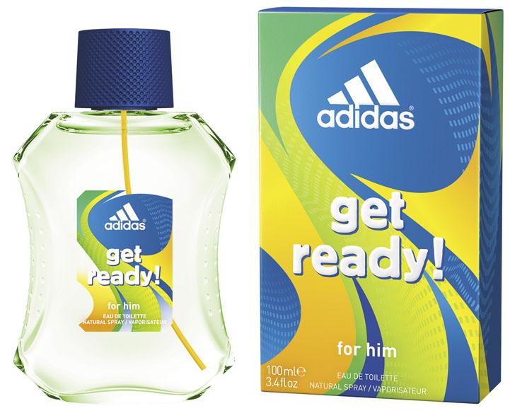 Adidas Лосьон после бритья Get Ready!, мужской, 100 мл340009368251Лосьон после бритья Adidas Get Ready! для него - это свежий древесно-цитрусовый аромат для мужчин. Пирамида аромата : Верхние ноты: бразильский мандарин, ананас, морской аккорд. Ноты сердца: райская маракуя, лаванда, мускатный шалфей. Базовые ноты: древесные ноты, кедровые ноты, пачули. Характеристики: Объем: 100 мл. Товар сертифицирован.