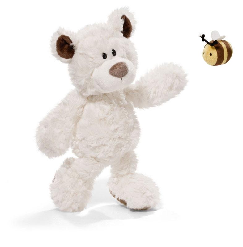 Мягкая игрушка Nici Медвежонок, сидячая, с пчелкой, 36 см36970Мягкая игрушка Nici Медвежонок выполнена в виде симпатичного медвежонка. Удивительно мягкая игрушка изготовлена из высококачественного текстильного материала кремового цвета с набивкой из синтепона и пластиковых гранул. Слева на животике у медвежонка пришита симпатичная пчелка. Игрушку можно посадить на ровную поверхность. Оригинальный стиль и великолепное качество исполнения делают эту игрушку чудесным подарком к любому празднику. Немецкая компания Nici является одним из лидеров на Европейском рынке мягких игрушек и подарков. Продукцию компании можно встретить везде: это и значок на школьном рюкзаке, и магнит на холодильнике, и поздравительная открытка, и мягкая игрушка, и автомобильный талисман. Игрушки Nici - это товары высочайшего качества и инновационного дизайна. Для создания всего одной игрушки работает большое количество людей и используется самое современное оборудование и технологии. И делается все это для того, чтобы добиться счастливых улыбок...