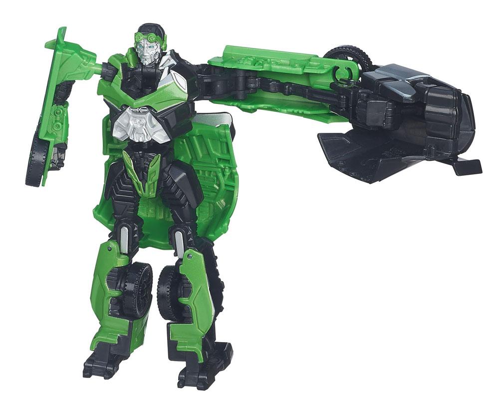 Transformers Аттакеры: CROSSHAIRSA6147_3Игрушка Transformers Аттакеры: CROSSHAIRS понравится вашему маленькому поклоннику Трансформеров и не позволит ему скучать. Она выполнена из прочного пластика в виде персонажа из нового фильма Трансформеры 4. Эпоха истребления автобота Кроссхейза. Робот может трансформироваться в автомобиль. Ваш ребенок часами будет занят игрой, придумывая разные истории. Порадуйте его таким замечательным подарком!