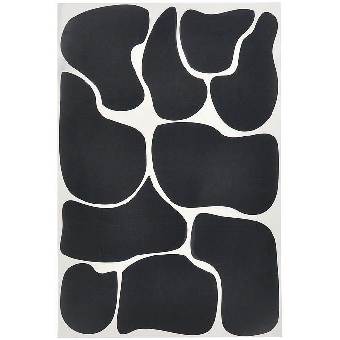 Стикер Paristic Пятна коровы, цвет: черный, 29 х 44 смПР00142Оригинальный стикер Paristic Пятна коровы выполнен из матового винила - тонкого эластичного материала, который хорошо прилегает к любым гладким и чистым поверхностям, легко моется и держится до семи лет, не оставляя следов. Великолепное исполнение добавит изысканности в дизайн вашего дома. На одном листе расположено 10 стикеров. Сегодня виниловые наклейки пользуются большой популярностью среди декораторов по всему миру, а на российском рынке товаров для декорирования интерьеров являются новинкой. Необыкновенный всплеск эмоций в дизайнерском решении создаст утонченную и изысканную атмосферу не только спальни, гостиной или детской комнаты, но и даже офиса. Характеристики: Материал: винил. Цвет: черный. Размер листа: 29 см х 44 см. Количество стикеров на листе: 10 шт. Размер самого маленького пятна: 7 см х 9 см. Размер самого большого пятна: 16 см х 11 см Комплектация: виниловый стикер; инструкция;...