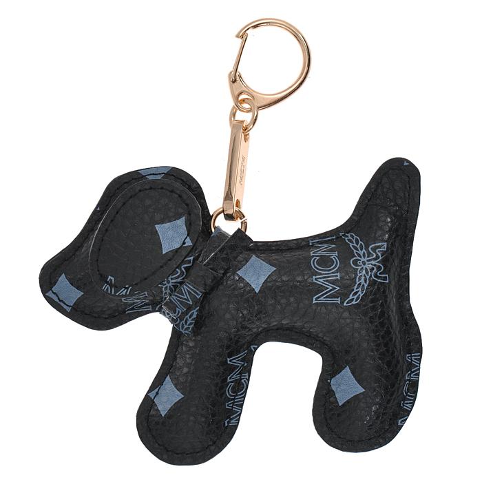 Подвеска-брелок Cheribags, цвет: черный. Собака 10Собака 10Подвеска-брелок Cheribags выполнена из высококачественной экокожи черного цвета в виде фигурки собаки. Подвеска оснащена металлическим карабином, благодаря чему ее можно прикрепить к сумке, рюкзаку или использовать в качестве брелока для ключей. Стильная вещица порадует любительницу ярких и необычных аксессуаров.
