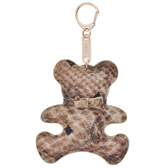 Подвеска-брелок Cheribags, цвет: коричневый. Панда 12Панда 12Подвеска-брелок Cheribags выполнена из высококачественной экокожи в виде фигурки панды с бантиком на шее. Подвеска оснащена металлическим карабином, благодаря чему ее можно прикрепить к сумке, рюкзаку или использовать в качестве брелока для ключей. Стильная вещица порадует любительницу ярких и необычных аксессуаров.
