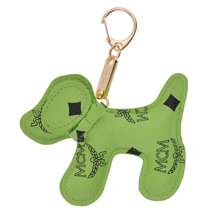 Подвеска-брелок Cheribags, цвет: салатовый. Собака 14Собака 14Подвеска-брелок Cheribags выполнена из высококачественной экокожи салатового цвета в виде фигурки собаки. Подвеска оснащена металлическим карабином, благодаря чему ее можно прикрепить к сумке, рюкзаку или использовать в качестве брелока для ключей. Стильная вещица порадует любительницу ярких и необычных аксессуаров.