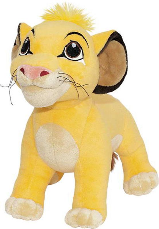 Мягкая озвученная игрушка Симба, 30 смDLS0\MМягкая озвученная игрушка Симба подарит вашему ребенку много радости и веселья! Она выполнена в виде персонажа мультфильма Король лев - львенка Симбы. Этот отважный львенок всегда рвется на подвиги и одерживает над всеми победу. Игрушка приятна на ощупь. Она изготовлена из мягкого текстильного материала, глаза вышиты нитками. На туловище Симбы находится кнопка, при нажатии на которую он произносит рычит и произносит шесть различных фраз из мультфильма. Порадуйте своего ребенка таким замечательным подарком!