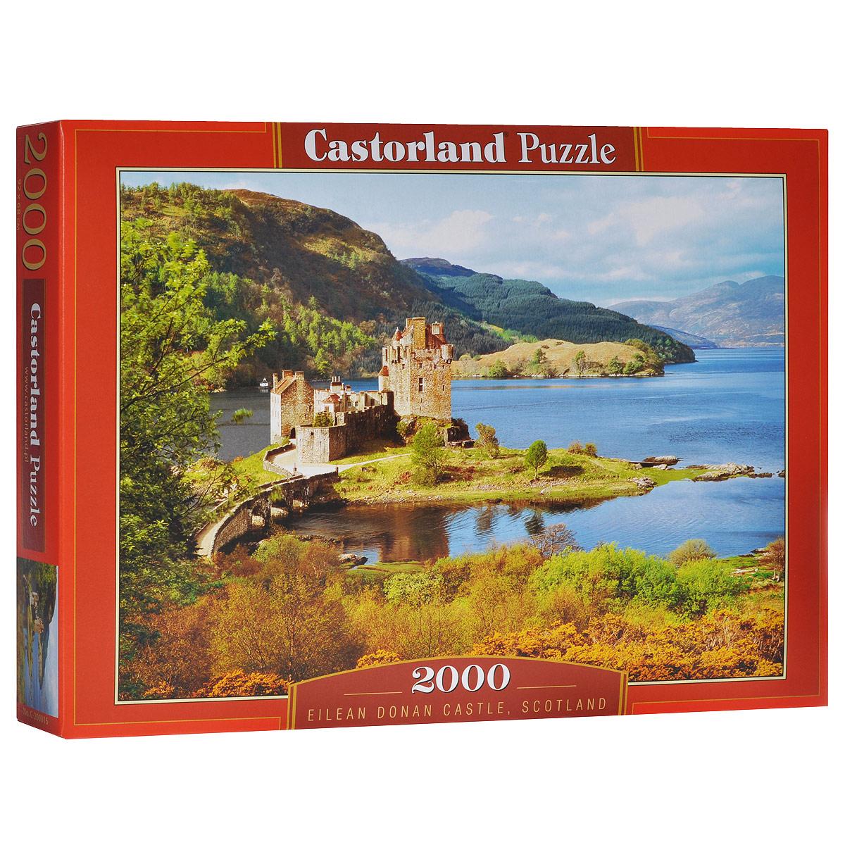 Побережье, Шотландия. Пазл, 2000 элементовС-200016Пазл Побережье, Шотландия, без сомнения, придется вам по душе. Собрав этот пазл, включающий в себя 2000 элементов, вы получите великолепную картину побережья Шотландии. Пазл - великолепная игра для семейного досуга. Сегодня собирание пазлов стало особенно популярным, главным образом, благодаря своей многообразной тематике, способной удовлетворить самый взыскательный вкус. А для детей это не только интересно, но и полезно. Собирание пазла развивает мелкую моторику у ребенка, тренирует наблюдательность, логическое мышление, знакомит с окружающим миром, с цветом и разнообразными формами.