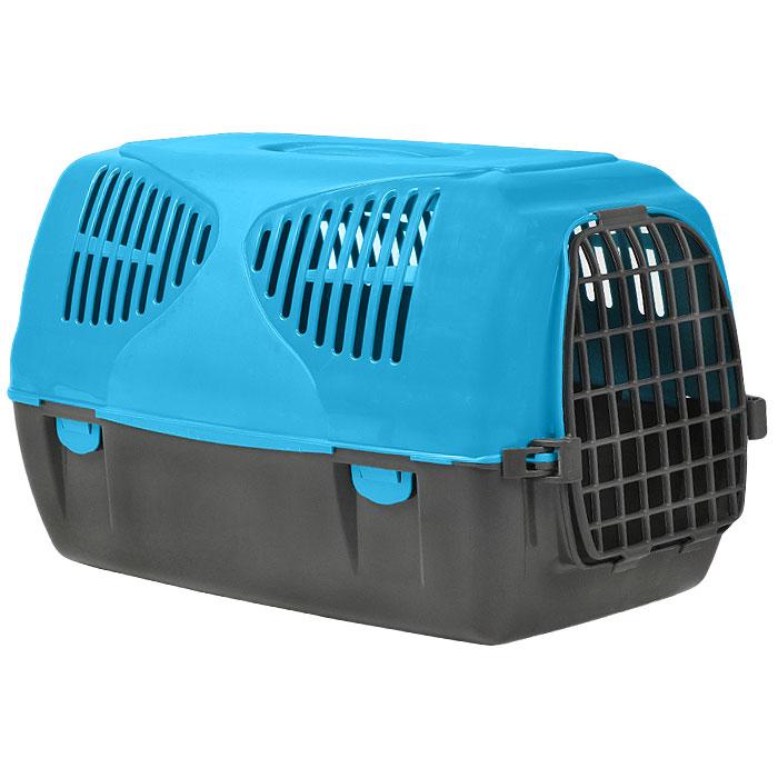 Переноска для животных MPS Sirio Big, цвет: серый, голубой, 64 см х 37 см х 39 смS01010303Переноска MPS Sirio Big, выполненная из высококачественного пластика, прекрасно подойдет для собак средних пород и кошек. Переноска оснащена крышкой с отверстиями для вентиляции. Легко собирается и разбирается. Неподвижная ручка обеспечивает большую безопасность при переноске. Самоблокирующая дверь делает транспортировку безопасной и удобной для животного и его хозяина. В комплекте - крепежи и инструкция по сборке. Характеристики: Размер переноски (Д х Ш х В): 37 см х 64 см х 39 см.