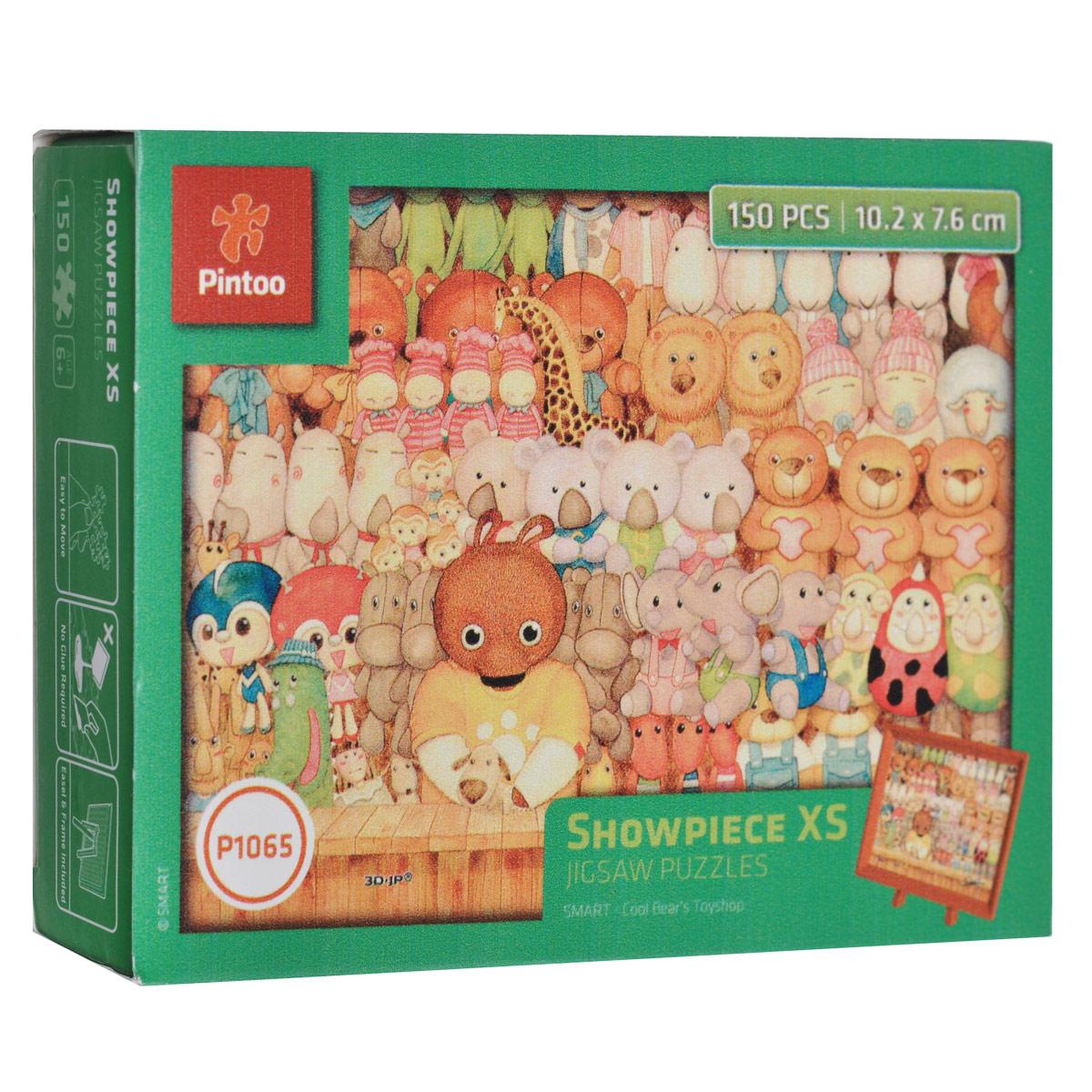 Медвежата. Пазл, 150 элементовР1065Пазл «Медвежата», без сомнения, придется вам по душе. Собрав этот пазл, включающий в себя 150 элементов, вы получите великолепную картину с изображением медвежат, слоников и других плюшевых игрушек. В комплект входит рамка и подставка для рамки. Пазл - великолепная игра для семейного досуга. Сегодня собирание пазлов стало особенно популярным, главным образом, благодаря своей многообразной тематике, способной удовлетворить самый взыскательный вкус. А для детей это не только интересно, но и полезно. Собирание пазла развивает мелкую моторику у ребенка, тренирует наблюдательность, логическое мышление, знакомит с окружающим миром, с цветом и разнообразными формами.