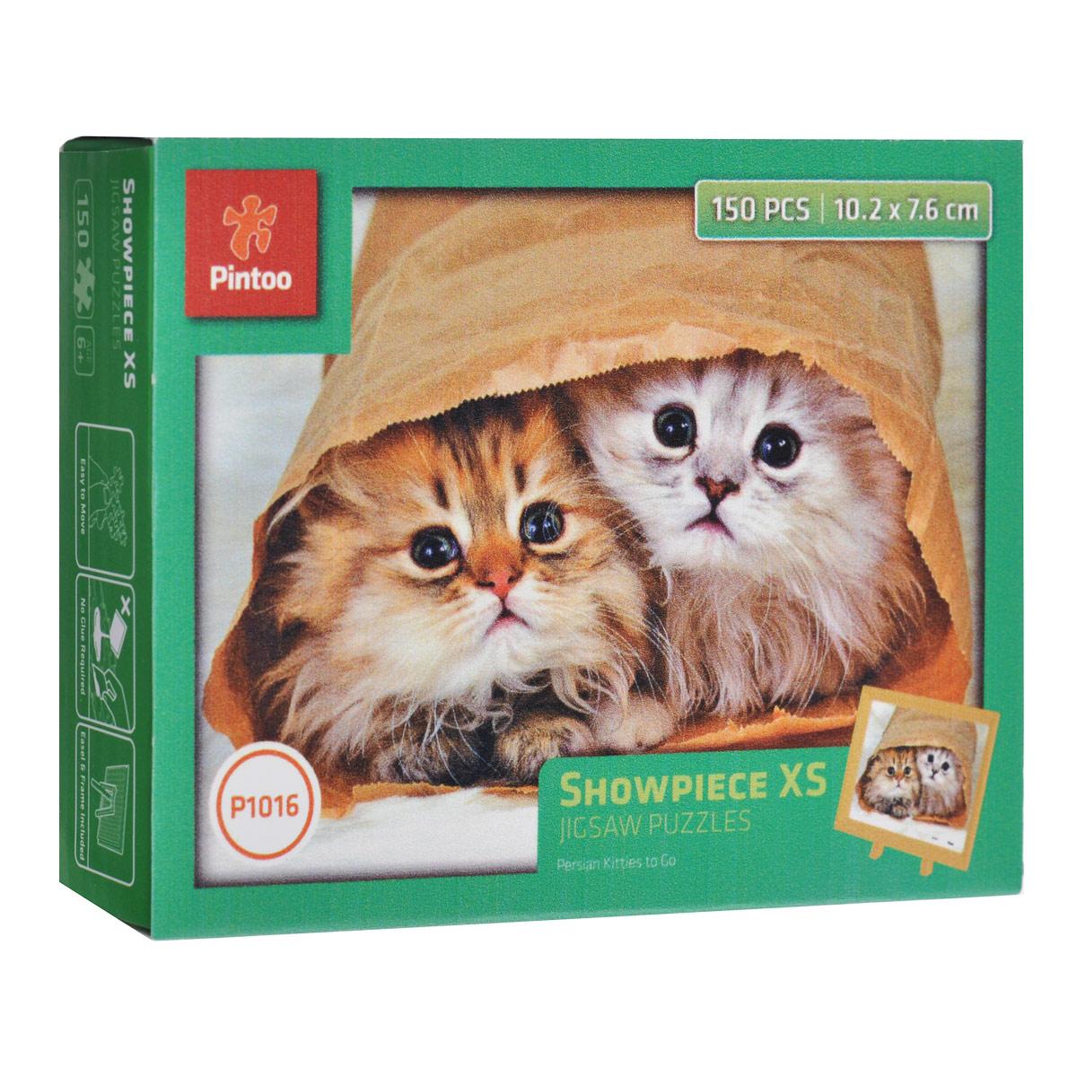 Персидские котята. Пазл, 150 элементовР1016Пазл «Персидские котята», без сомнения, придется вам по душе. Собрав этот пазл, включающий в себя 150 элементов, вы получите великолепную картину с изображением двух милых персидских котят. В комплект входит рамка и подставка для рамки. Пазл - великолепная игра для семейного досуга. Сегодня собирание пазлов стало особенно популярным, главным образом, благодаря своей многообразной тематике, способной удовлетворить самый взыскательный вкус. А для детей это не только интересно, но и полезно. Собирание пазла развивает мелкую моторику у ребенка, тренирует наблюдательность, логическое мышление, знакомит с окружающим миром, с цветом и разнообразными формами.