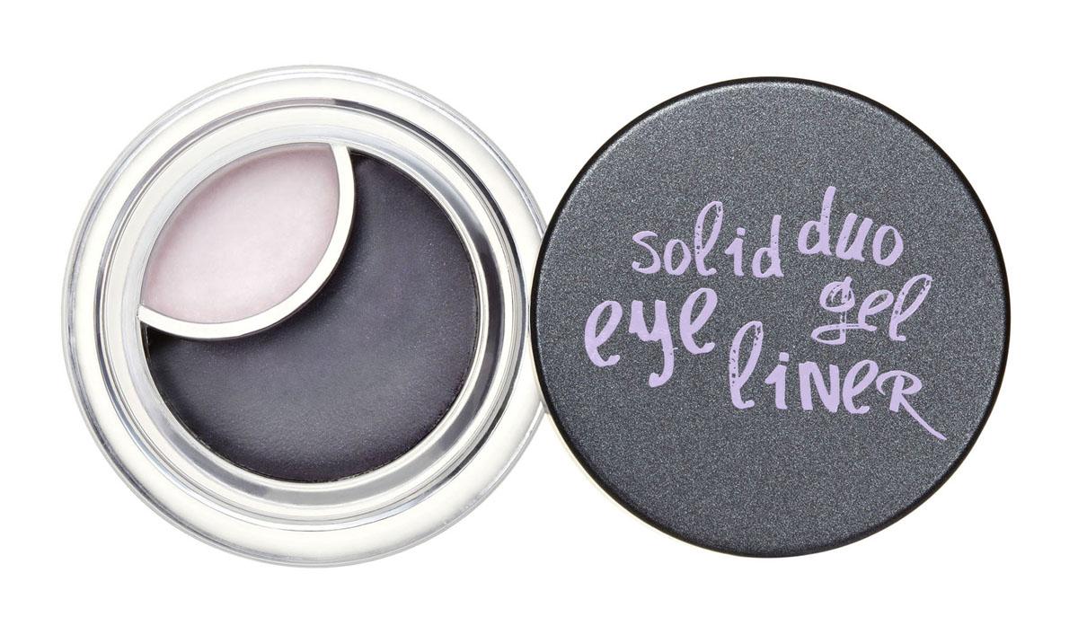 Touch In Sol Двойная подводка для глаз Solid Duo, тон №1 Blue Black & White Purple, 3,5 гУТ000000492Двухцветная подводка для глаз Touch In Sol Solid Duo - мягкая гелевая альтернатива против традиционной подводки. Техника контрастных теней. Создает 3D эффект с ярким перламутровым завершением. Профессиональный аппликатор - эргономическая форма. Водостойкая. Кисточкой можно нанести как тонкие линии так и растушевать, создавая более глубокий взгляд. Товар сертифицирован.