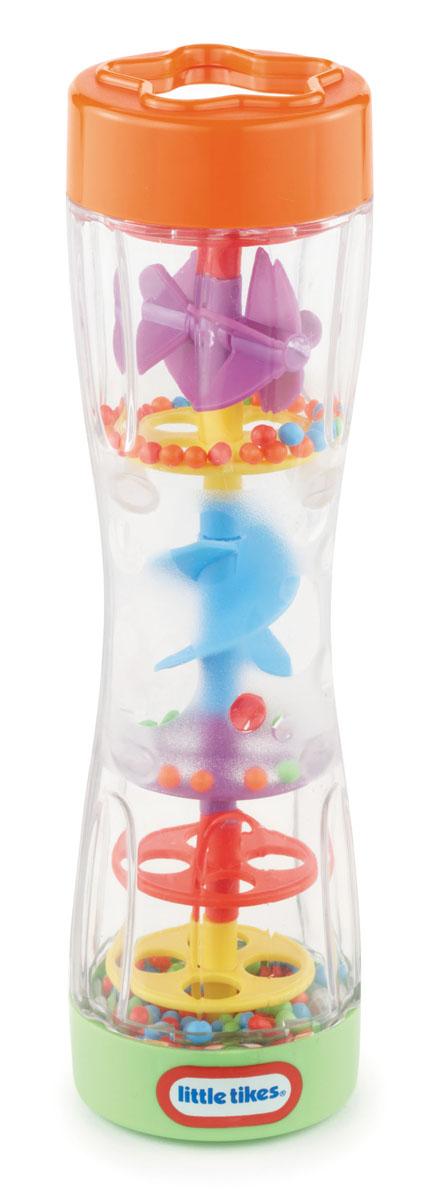 Развивающая игрушка Little Tikes Цветной дождь634994Развивающая игрушка Little Tikes Цветной дождь привлечет внимание вашего ребенка и не позволит ему скучать. Она выполнена из прочного безопасного пластика в виде прозрачной трубы, внутри которой расположены перекладины с отверстиями, вертушка, спираль и мелкие разноцветные шарики. Малыш с удовольствием будет пересыпать шарики из одного конца игрушки в другой, приводя в движение спираль и вертушку. Шарики, пересыпаясь, будут греметь, развлекая кроху. На одном конце игрушки расположено небольшое безопасное зеркальце. Игрушка Цветной дождь поможет ребенку развить цветовое и звуковое восприятия, координацию движений, мелкую моторику рук и мышление. УВАЖАЕМЫЕ КЛИЕНТЫ! Товар поставляется в ассортименте. Поставка осуществляется в одном из приведенных вариантов в зависимости от наличия на складе.