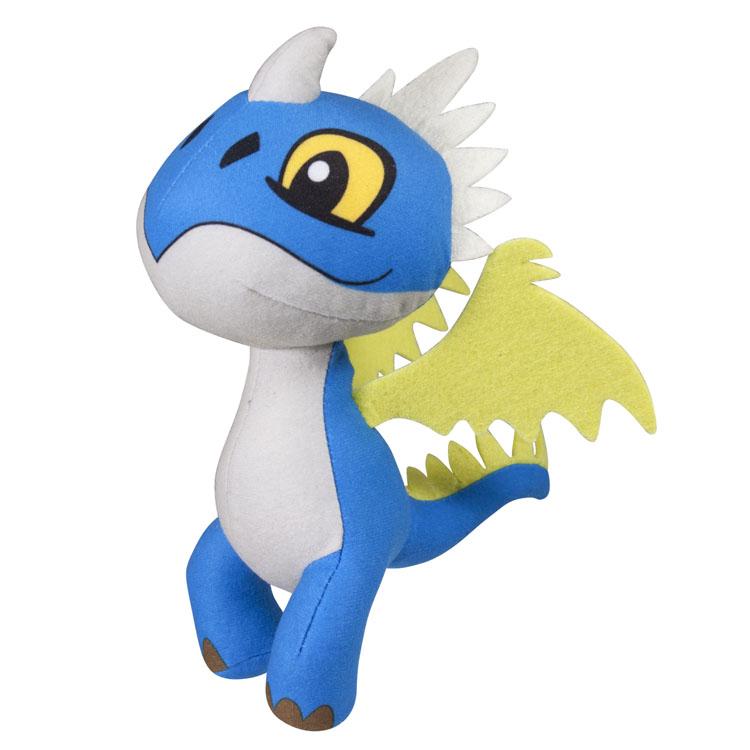 Мягкая игрушка Dragons Громгильда, озвученная66552_2Мягкая озвученная игрушка Dragons Громгильда вызовет улыбку у каждого, кто ее увидит. Она выполнена из приятного на ощупь текстильного материала в виде дракона из мультфильма «Как приручить дракона 2». При каждом ударе по дракончику, игрушка воспроизводит забавные звуки. Эта забавная игрушка принесет радость и подарит своему обладателю мгновения приятных воспоминаний. Такая игрушка станет отличным подарком вашему ребенку!