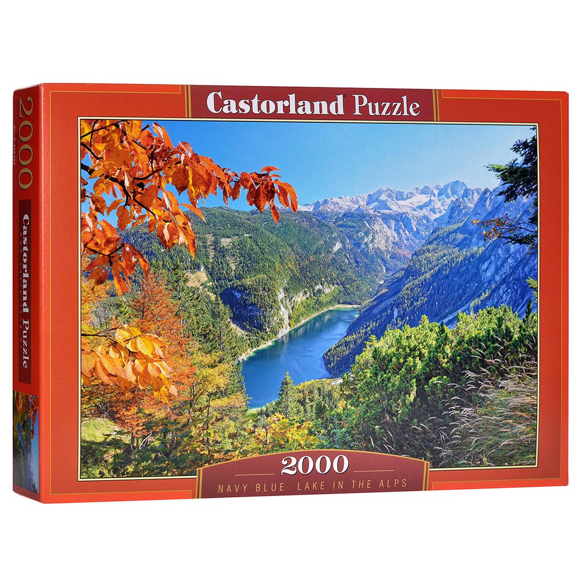 Озеро в Альпах. Пазл, 2000 элементовС-200399Пазл Озеро в Альпах, без сомнения, придется вам по душе. Собрав этот пазл, включающий в себя 2000 элементов, вы получите великолепную картину с изображением озера в горах. Пазл - великолепная игра для семейного досуга. Сегодня собирание пазлов стало особенно популярным, главным образом, благодаря своей многообразной тематике, способной удовлетворить самый взыскательный вкус. А для детей это не только интересно, но и полезно. Собирание пазла развивает мелкую моторику у ребенка, тренирует наблюдательность, логическое мышление, знакомит с окружающим миром, с цветом и разнообразными формами.