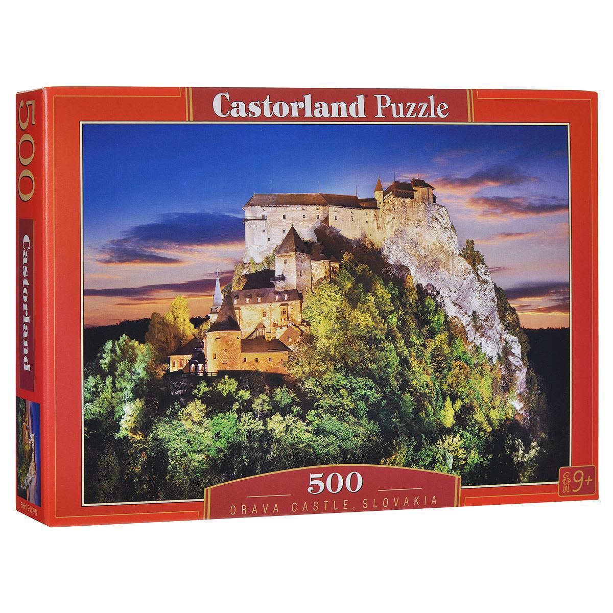 Замок, Словакия. Пазл, 500 элементов