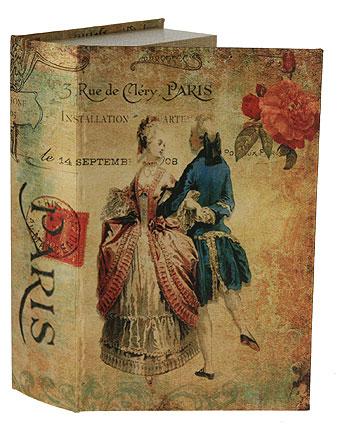 Шкатулка-фолиант Портрет, 27 х 17,5 х 6,5 см 184185184185Шкатулка-фолиант Портрет выполнена в виде старинной книги. Оригинальное оформление шкатулки, несомненно, привлечет к себе внимание. Поверхность шкатулки-фолианта выполнена из кожзаменителя и оформлена оригинальным рисунком. Внутри шкатулка отделана кожзаменителем. Такая шкатулка может использоваться для хранения бижутерии, в качестве украшения интерьера, а также послужит хорошим подарком для человека, ценящего практичные и оригинальные вещицы.