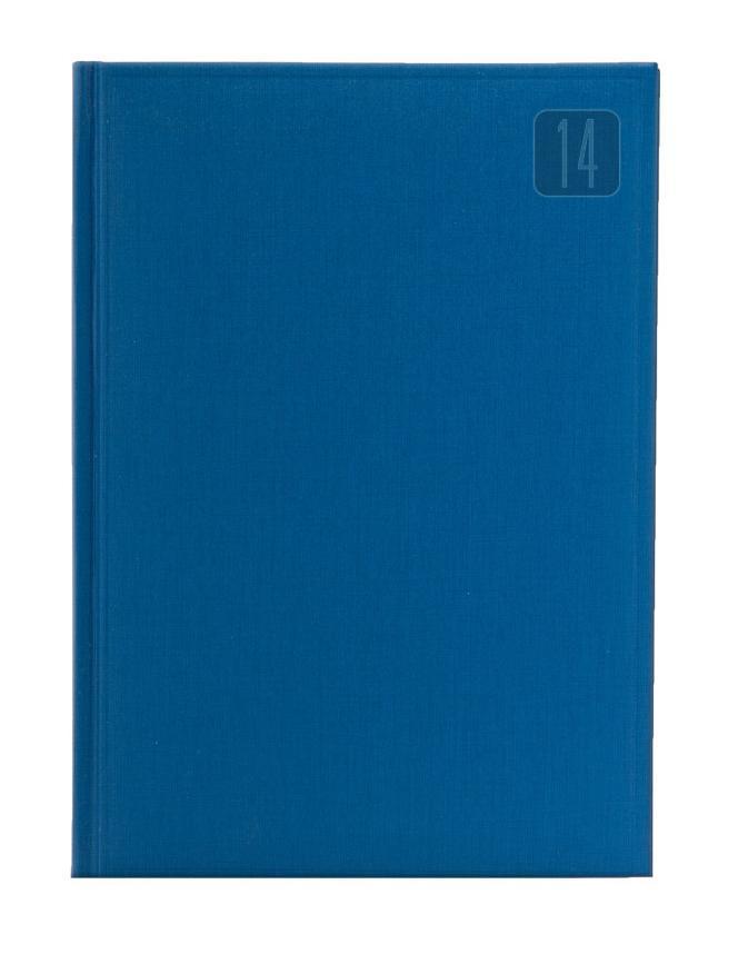 Ежедневник Nazarenogabrielli Frame (2014), датированный, цвет: синий, А6ЕКК17517601