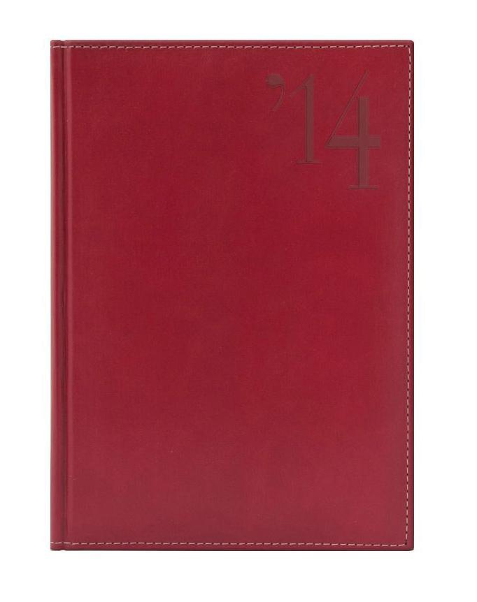 Ежедневник Nazarenogabrielli Portland (2014), датированный, цвет: красный, А630808