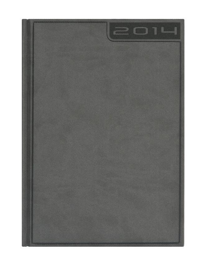 Ежедневник Nazarenogabrielli Rigel (2014), датированный, цвет: серый, А5176Ед6_03426