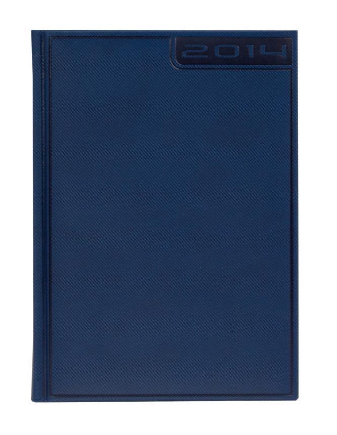 Ежедневник Nazarenogabrielli Rigel (2014), датированный, цвет: темно-синий, А5124775
