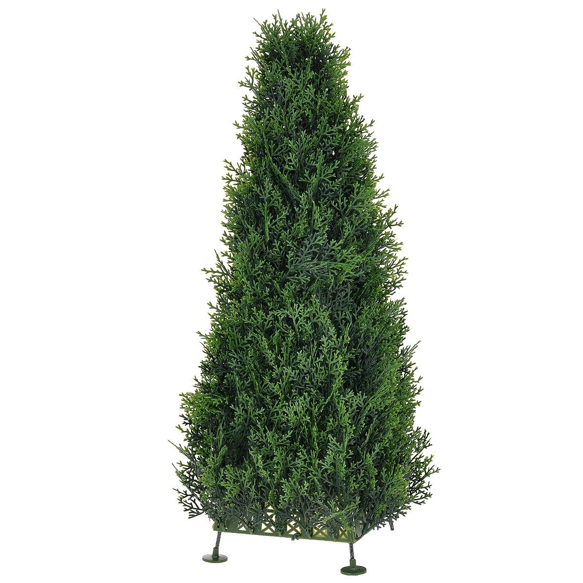 Растение искусственное Gardman Topiary Obelisk. Кипарис, высота 60 см - Gardman02851Искусственное растение Gardman Topiary Obelisk. Кипарис, выполненное из пластика в виде высокого лиственного куста, великолепно украсит интерьер офиса, дома или дачи. Такое растение устойчиво к воздействию солнечных лучей и погодных условий. Идеально для декора помещений на свежем воздухе (веранды, балконы и т.д.). Не намокает и не выцветает. Оно оригинально украсит ваш дом или сад и станет замечательным дизайнерским решением.