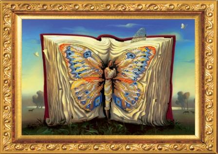 Набор для вышивания бисером Волшебная книга, 36 см х 30 см5В набор для вышивания Волшебная книга входит все необходимое для создания собственного чуда: чешский бисер, ткань с нанесенным рисунком-схемой, специальная бисерная игла и инструкция. Рамка в состав готового набора не входит! Времена меняются, а истинные ценности всегда остаются в моде. К таким ценностям можно отнести любовь девушки, женщины к рукоделию. Представьте себе картину: девушка, сидящая в своей светлице перед веретеном у окна, напевающая красивую песню, задумчиво прядет, ловко управляясь с нитью. Старо? Можно придумать что-нибудь более современное. Например, молодая женщина сидит в уютном креслице с вышивкой на коленях, а рядом бегают малыши в вязанных ее руками штанишках. Или так. Бабушка в кресле-качалке вышивает икону... Наверняка придуманные вами образы овеяны ореолом романтики, тепла, света. И это неудивительно, рукоделие - пища не только (и даже не столько) для рук, сколько для души. И еще немного - для ума,...