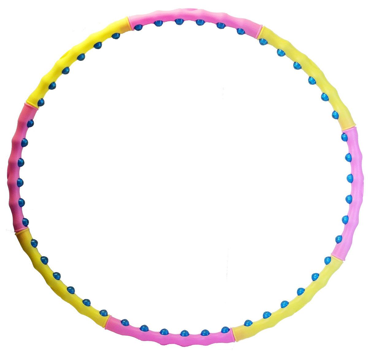 Обруч массажный разборный Z-sports, диаметр 100 см