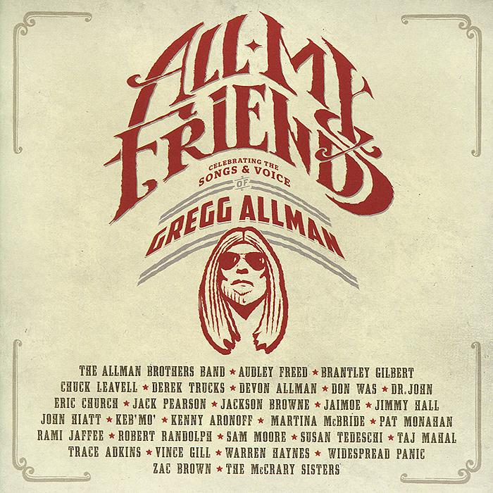 Gregg Allman. All My Friends (2 CD)