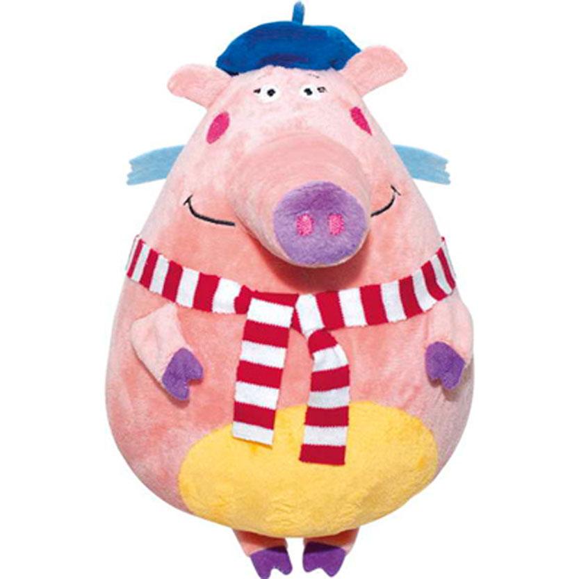 Мягкая игрушка Летающие звери Свинка Софи, цвет: светло-розовый, 25 смLNS0Мягкая игрушка Летающие звери Свинка Софи, выполненная в виде персонажа мультфильма «Летающие Звери» вызовет умиление и улыбку у каждого, кто ее увидит. Софи - француженка, аспирантка, любительница покопаться в книгах, подискутировать, постоянно подвергающая сомнению все утверждения и догмы. Она очень влюбчива, ее сложно увидеть с одним и тем же ухажером, и каждый раз она будет уверять, что именно этот прекрасный юноша - ее самая большая любовь. Летающие звери - это уникальный благотворительный медиа-проект, прибыль которого идет на лечение детей, больных онкологическими заболеваниями. В основе бренда лежит детский анимационный сериал Летающие звери. Идея сериала - воодушевить взрослых и маленьких зрителей не бояться быть счастливыми, верить в самих себя и свои возможности, смело менять жизнь к лучшему. Покупая мягкие игрушки под брендом Летающие Звери Вы делаете доброе дело - помогаете спасти жизнь. Помогать легко, и это окрыляет! Более...