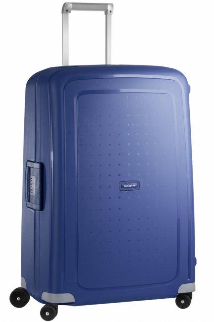Чемодан Samsonite SCure, 102 л. 10U-01002, темно-синий10U-01002Характеристики: Размер чемодана (без учета ручки и колес) (ДхШхВ): 53 см x 30 см x 73 см. Размер главного отделения чемодана (ДхШхВ): 69 см x 49 см x 16 см. Высота чемодана (с учетом колес): 75 см Высота чемодана (с учетом колес и выдвинутой ручки): 85/90/95/105 см. Диаметр колеса: 5,5 см. Ширина колеса: 4 см. К чемодану прилагается подарок: две пары шлепанцев (мужские и женские).
