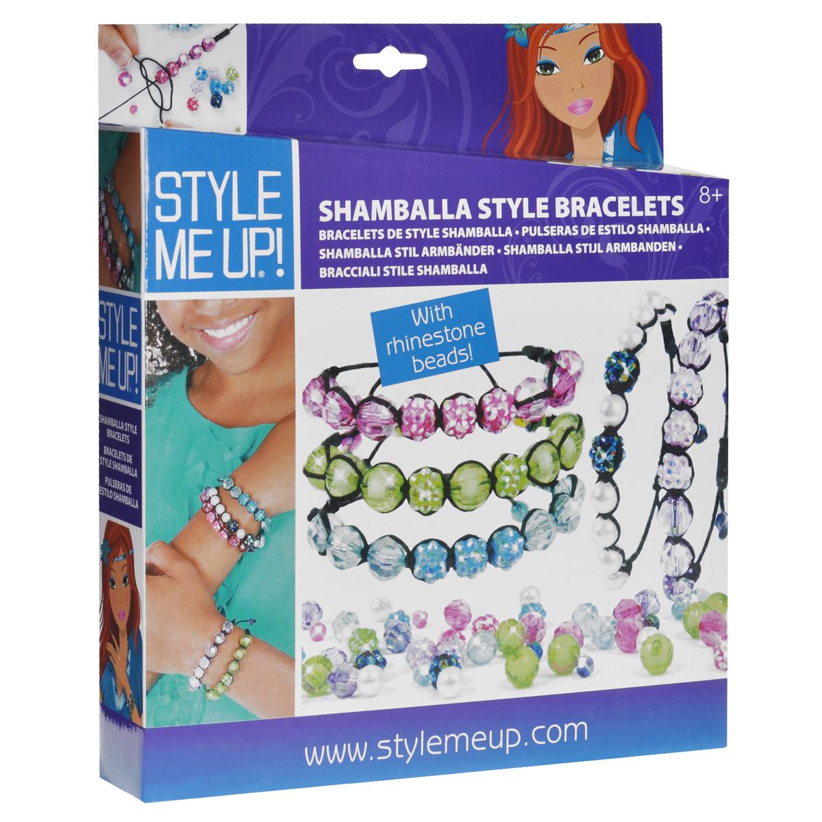 Набор для создания браслетов Style Me Up. 620620Набор для создания украшений Style Me Up, несомненно, привлечет внимание вашей малышки, ведь с его помощью она сможет создать стильные браслеты. Набор состоит из бусинок различной формы, размера и цвета, а также веревочек и основ для браслетов. Украшения, созданные своими руками, привлекут внимание окружающих и могут стать отличным подарком друзьям и близким.